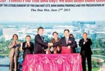 TP. Thủ Dầu Một và trung tâm thành phố mới Bình Dương: Bước tiến mới trong phát triển đô thị