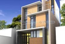 Thiết kế kiến trúc biệt thự phố hiện đại